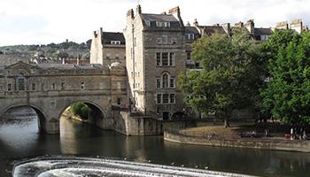 Bath ist eine der schönsten Städte Englands, viele Menschen halten Bath sogar für die schönste