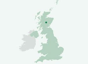Pitlochry liegt ziemlich genau in der geographischen Mitte von Schottland – das macht ihn als Ausgangspunkt für viele Ziele so attraktiv.